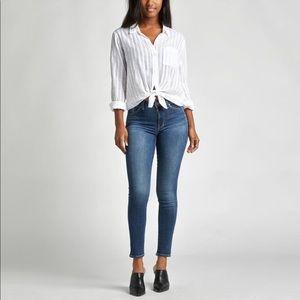 Silver jeans bleecker skinny jeans Size W32 L29